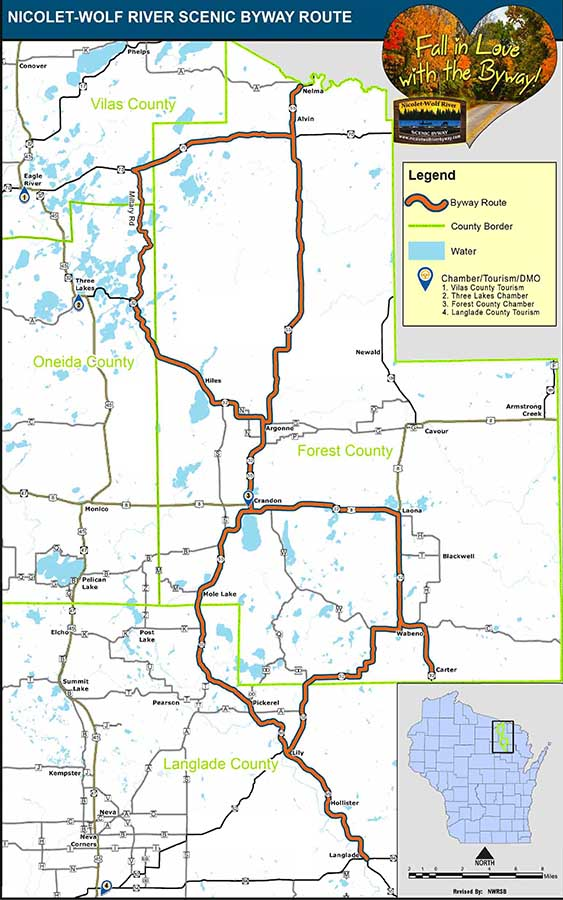 Byway Map 2019